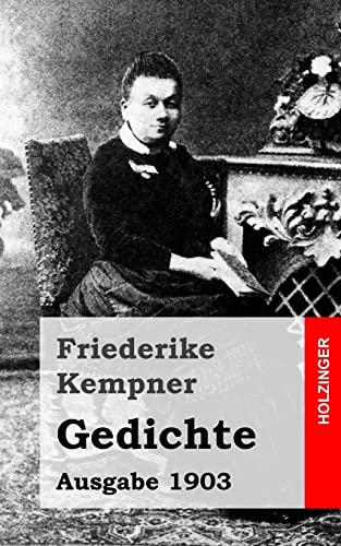 9781482589771: Gedichte: Ausgabe 1903 (German Edition)