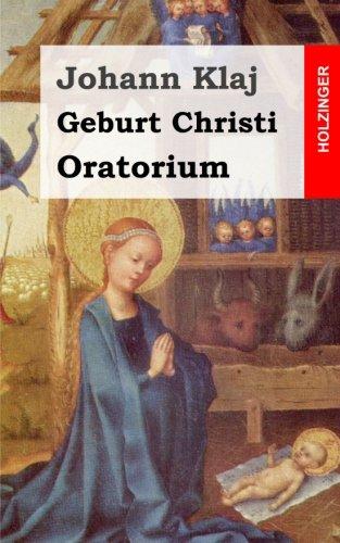 9781482590012: Geburt Christi: Oratorium Festspiel