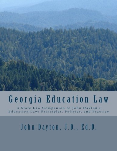 9781482610499: Georgia Education Law