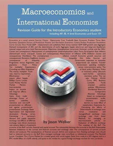 9781482612172: Macroeconomics and International Economics Revision Guide: for the Introductory Economics student