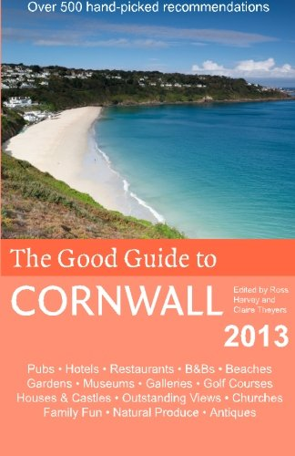 9781482618037: The Good Guide to Cornwall 2013
