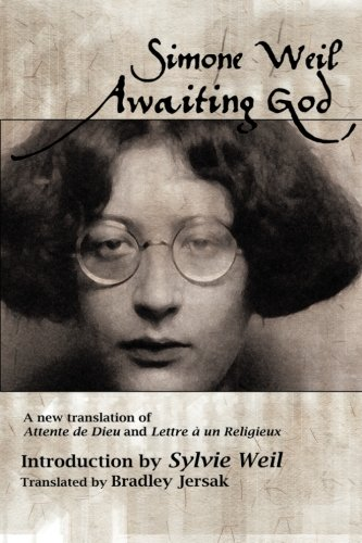 9781482618990: Awaiting God: A new translation of Attente de Dieu and Lettre a un Religieux
