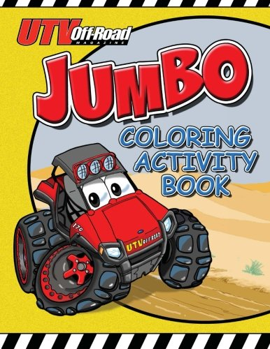 9781482671346: UTV Off Road Jumbo Coloring & Activity Book