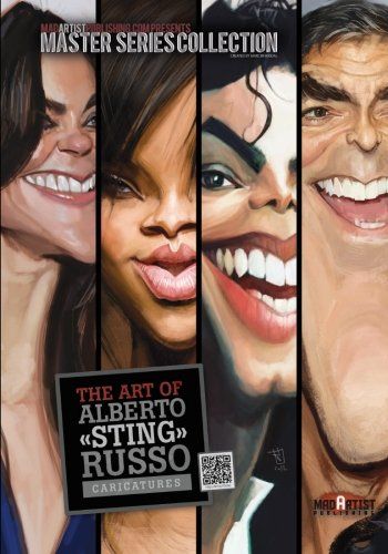 The Art of Alberto Sting Russo: Caricatures: