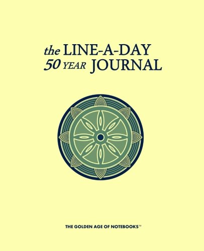 The Line-A-Day 50 Year Journal: The Golden Age of Notebooks