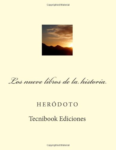 9781482698244: Los nueve libros de la historia (Spanish Edition)