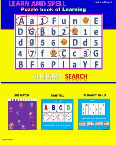 9781482701753: learn and Spell / Puzzle Book of Learning: Puzzle Book of Learning