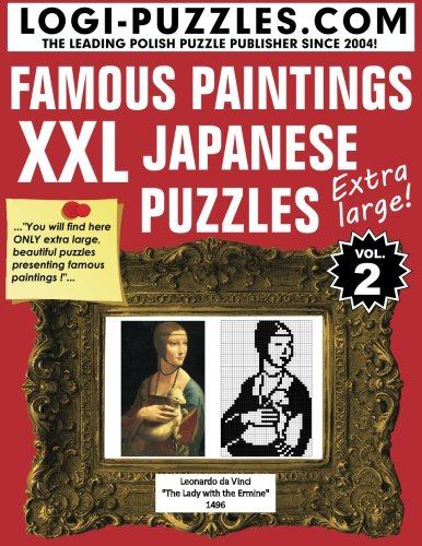 9781482703351: XXL Japanese Puzzles: Famous Paintings (Volume 2)
