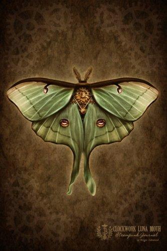 9781482717068: Clockwork Luna Moth Steampunk Journal