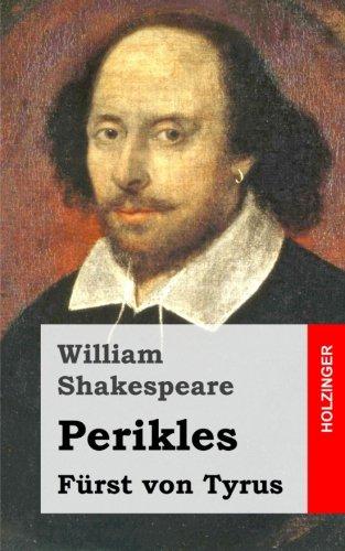 9781482722291: Perikles: Fürst von Tyrus