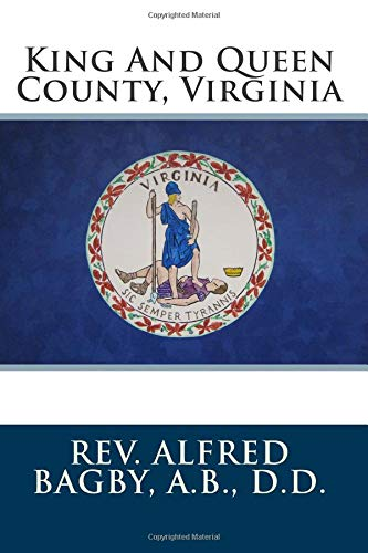 9781482737738: King And Queen County, Virginia