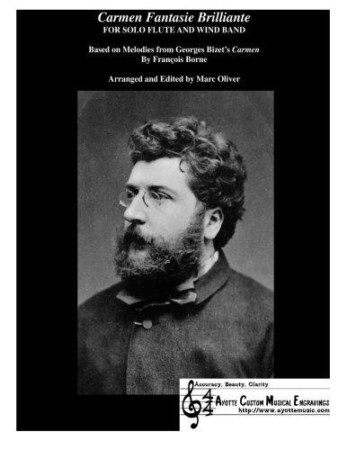 9781482758979: Carmen Fantasie Brilliante: A Flute Fantasy on Themes from The Opera