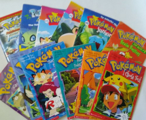 Pokemon Chapter Books : Series #1 - 3 : I Choose You; Island of the Giant Pokemon - Attack of the Prehistoric Pokemon; Race to Danger; Pokemon Ranger & the Temple; Pop Quiz Brain Buster; Pokemon 4ever (Children Book Sets : Grade 1 - 3) (9781482789911) by Tracy West; Sheila Sweeny; Jennifer Johnson