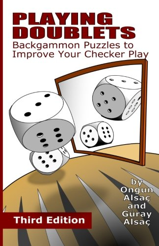 9781482794212: Playing Doublets: Backgammon Puzzles to Improve Your Checker Play