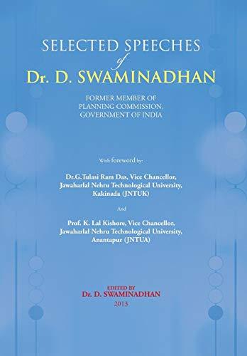 Selected Speeches of Dr. D. Swaminadhan: Devarakonda Swaminadhan