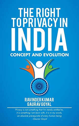 9781482868661: The Right to Privacy in India: Concept and Evolution