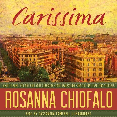 Carissima -: Rosanna Chiofalo