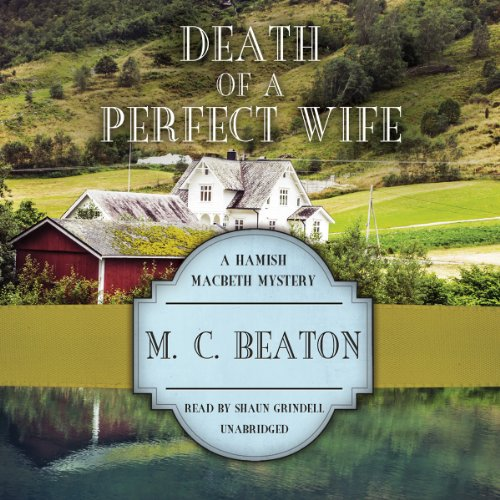 9781482927917: Death of a Perfect Wife (Hamish Macbeth Mysteries, Book 4)(LIBRARY EDITION)