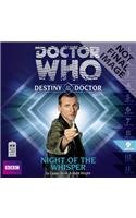 9781482939323: Doctor Who: Night of the Whisper (Doctor Who - Destiny of the Doctor)