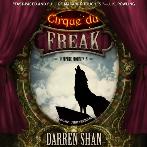 9781482947090: Vampire Mountain (Cirque Du Freak: The Saga of Darren Shan series, Book 4)(LIBRARY EDITION)