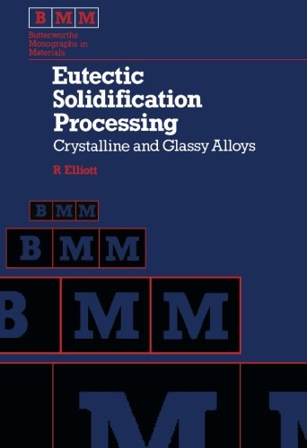 9781483112398: Eutectic Solidification Processing: Crystalline and Glassy Alloys