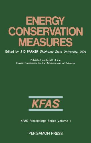 9781483112800: Energy Conservation Measures: Proceedings of the International Symposium, Kuwait, 6-8 February 1983