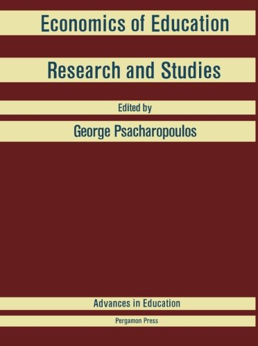 9781483112831: Economics of Education: Research and Studies