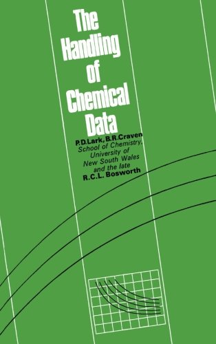 9781483113739: The Handling of Chemical Data