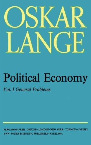 General Problems: Political Economy: Oskar Lange