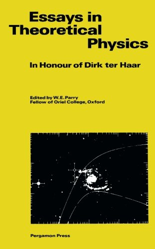 9781483117218: Essays in Theoretical Physics: In Honour of Dirk ter Haar