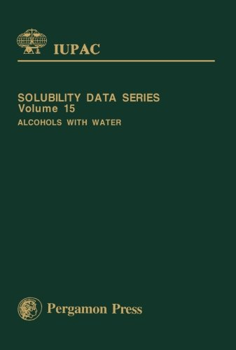 9781483117720: Alcohols with Water: Solubility Data Series (Volume 15)