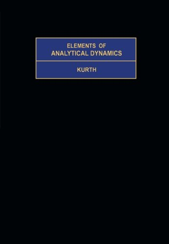 9781483119304: Elements of Analytical Dynamics: International Series in Pure and Applied Mathematics