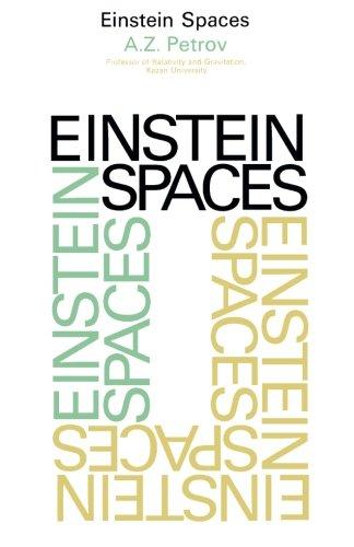 9781483119427: Einstein Spaces