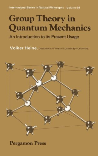 9781483119588: Group Theory in Quantum Mechanics: An Introduction to Its Present Usage