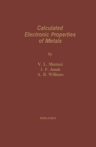 9781483119663: Calculated Electronic Properties of Metals
