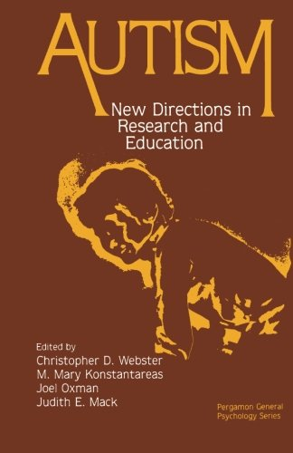 9781483120966: Autism: New Directions in Research and Education