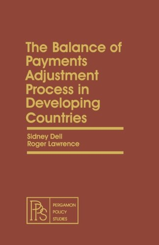 9781483121888: The Balance of Payments Adjustment Process in Developing Countries: Pergamon Policy Studies on Socio-Economic Development