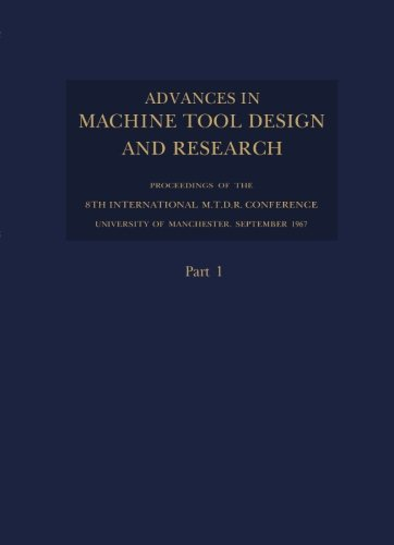 Advances in Machine Tool Design and Research
