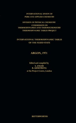 International Thermodynamic Tables of the Fluid State,