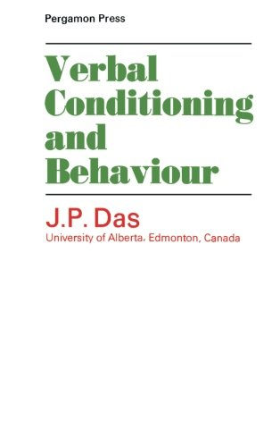 9781483124117: Verbal Conditioning and Behaviour