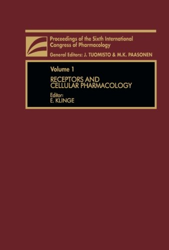 9781483125312: Receptors and Cellular Pharmacology: Proceedings of The Sixth International Congress of Pharmacology: 1