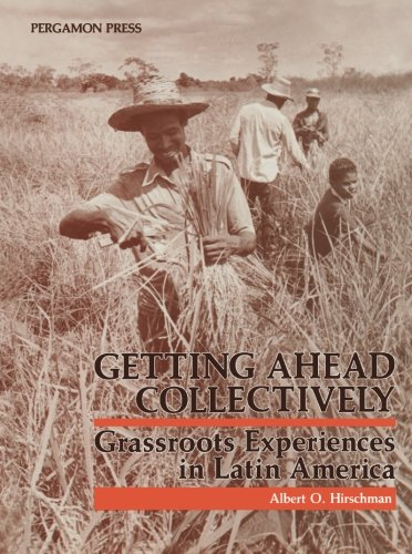 9781483125800: Getting Ahead Collectively: Grassroots Experiences in Latin America