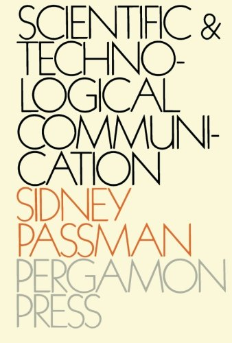 9781483126005: Scientific and Technological Communication