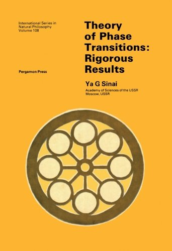 9781483126074: Theory of Phase Transitions: Rigorous Results: Volume 108