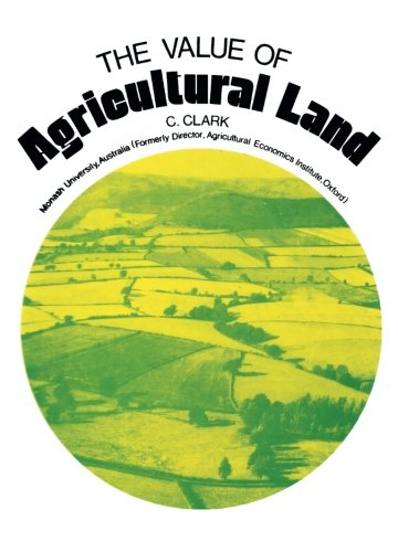 9781483126500: The Value of Agricultural Land
