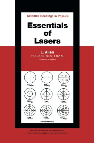 9781483126524: Essentials of Lasers: The Commonwealth and International Library: Selected Readings in Physics