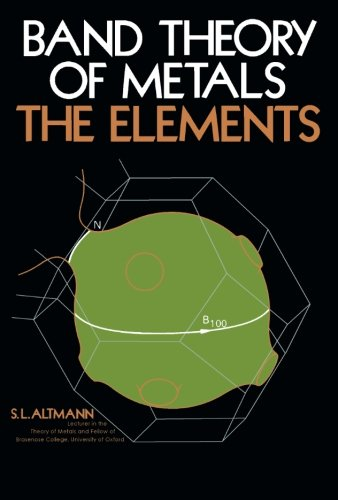 9781483126579: Band Theory of Metals: The Elements