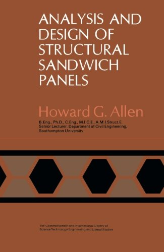 9781483126623: Analysis and Design of Structural Sandwich Panels: The Commonwealth and International Library: Structures and Solid Body Mechanics Division