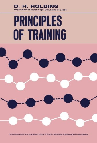 9781483127651: Principles of Training: The Commonwealth and International Library: Psychology Division
