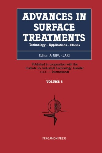 9781483130095: Advances in Surface Treatments: Technology - Applications - Effects (Volume 5)